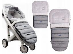 Śpiworek śpiwór do wózka igrow z pluszem zaffiro