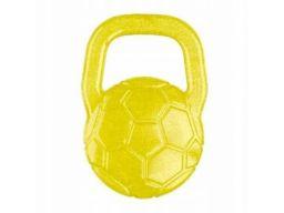 Babyono silikonowy gryzak chłodzący piłka żółta