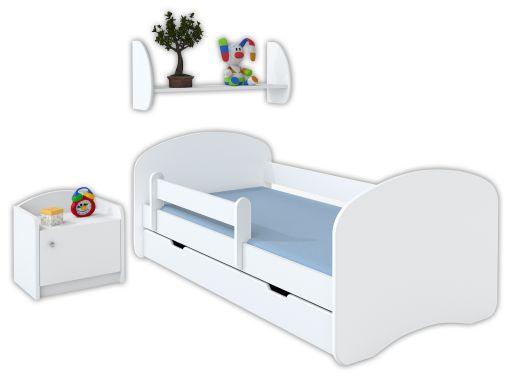Łóżko dziecięce 180x90 cm dwustronne z materacem
