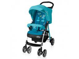 Wózek spacerowy baby design mini niebieski myszków