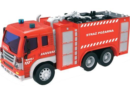 Straż pożarna 1:16 światło dźwięk wóz strażacki wo