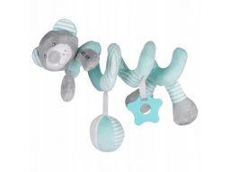 Baby-mix spiralka do wózków miś miętowy