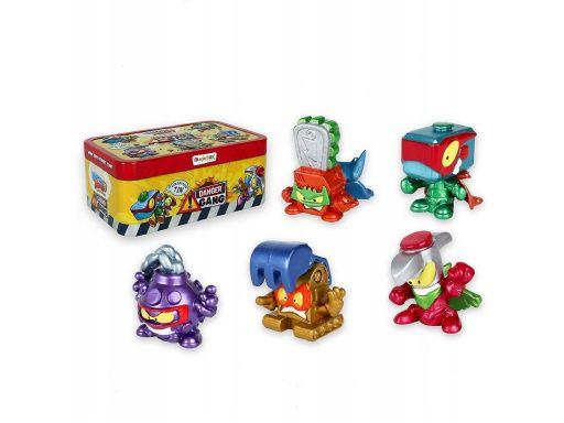 Super zings 4 seria danger gang puszka + 5 figurek