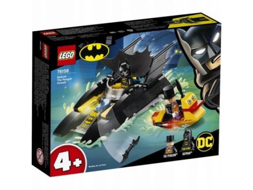 Lego super heroes batman pościg za pingwinem 76158