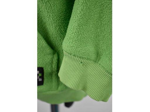 B fly bluza kaptur zielono-szara r.146cm
