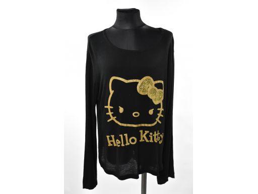 Hello kittyczarna koszulka 168cm 15-16lat