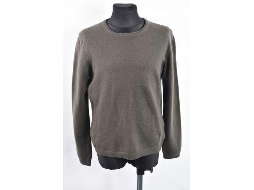 United colors of benetton brązowy sweterek r.8 lat