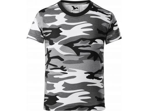 Koszulka dziecięca moro kamuflaż tshirt 122 cm