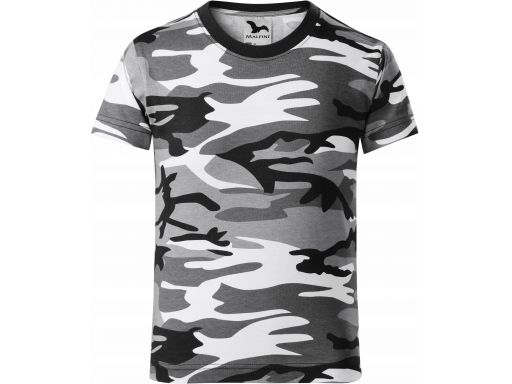 Koszulka dziecięca moro kamuflaż tshirt 110 cm