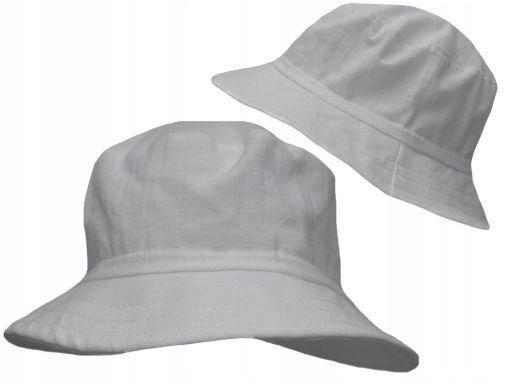 Bawełniany kapelusz płócienny 54 lekki przewiewny