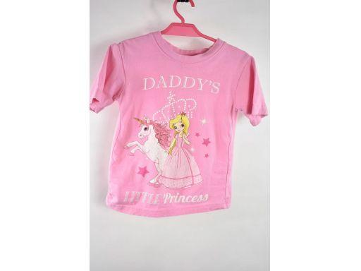 Daddy's princess bluzka różowa r.3-4lata 104cm