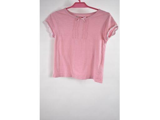 Primark collections bluzka różowa kr.rękaw r.116