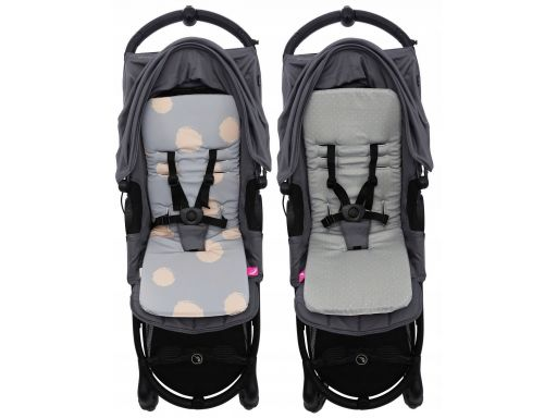 Antywstrząs.wkładka do wózka soft-shell motherhood