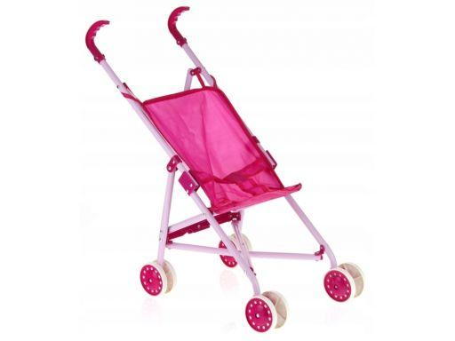 Wózek spacerowy dla lalek składany parasolka metal