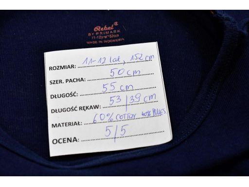 Rebel bluzka granat 11-12 lat, 152 cm