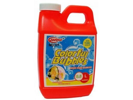 Płyn 0,5l do baniek mydlanych zapas bańki mydlane