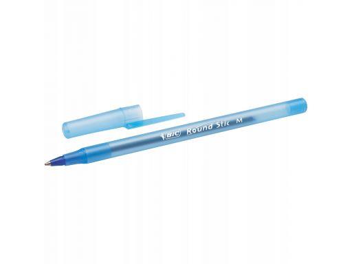 Długopis niebieski bic round stic classic