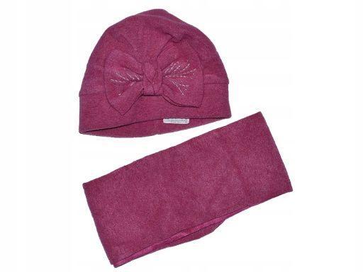 Chs pupil czapka+szalik polar 045 | 52-54 promocja