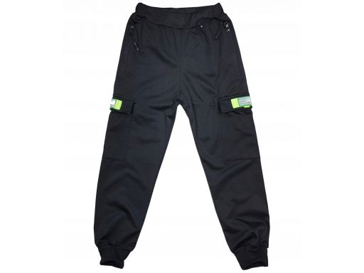 Spodnie dresowe leisure r 14 - 152/158 cm black