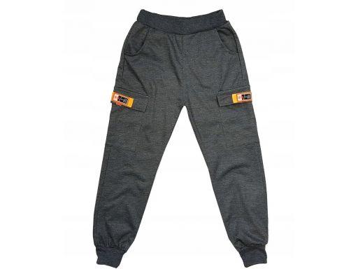 Spodnie dresowe garment r 10 - 134/140 cm grafit
