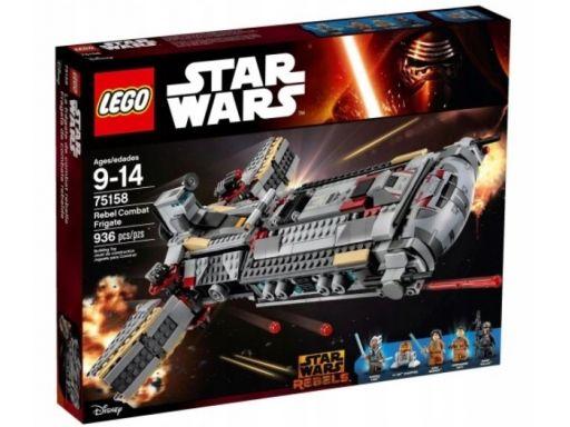 Lego star wars 75158 fregata rebeliantów unikat