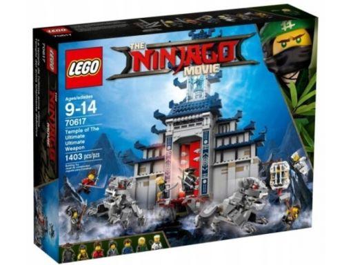 Lego ninjago 70617 świątynia broni unikat sklep