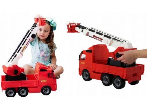 Wader 8787 duży wóz strażacki volvo straż pożarna