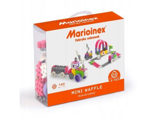 Marioinex wafle mini konstruktor, 140 szt, dziewcz