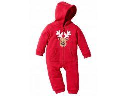 B.p.c. pajacyk niemowlęcy świąteczny 68/74