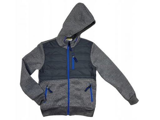 Ciepła bluza canada r 12 - 146/152 cm grey
