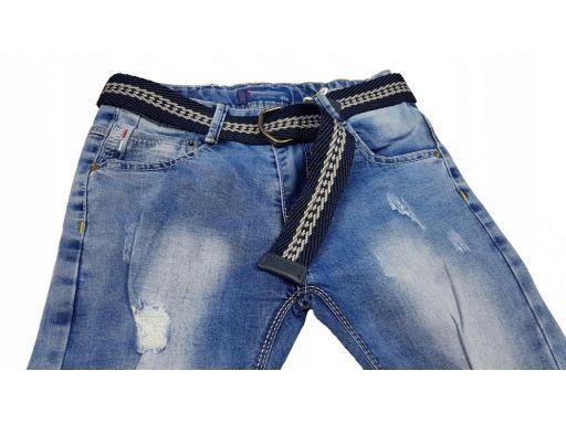 Spodnie rurki slim fit r 16 - 164/170 cm jeans