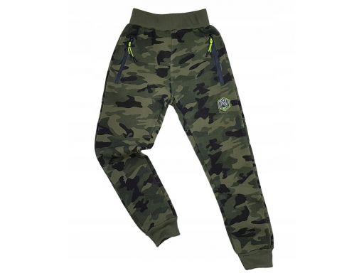 Ciepłe spodnie dresowe moro mirage r 8 -122/128 cm