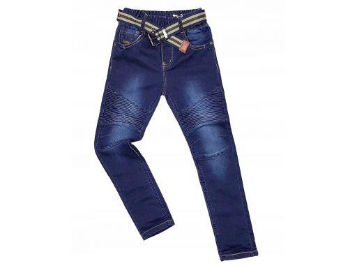 Spodnie jeans w gumkę orlando r 8 - 122/128 cm