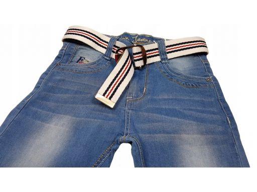 Spodnie jeansy light dunkan r 8 - 122 cm jeans