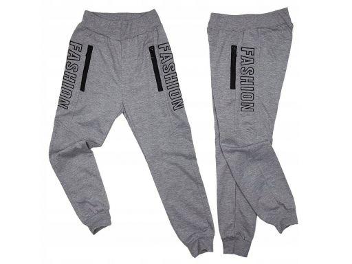 Spodnie dresowe training r 16 - 158/164 cm grey