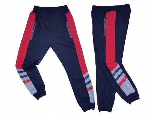 Spodnie dresowe carbon r 16 - 158/164 cm granat