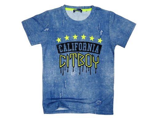 T-shirt koszukla citboy r 16 - 164/170 blue jeans