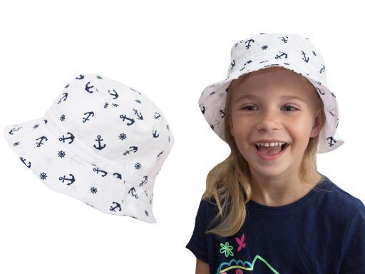 Bawełniany kapelusz płócienny 52 lekki przewiewny