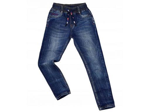 Spodnie jeansy w gumkę sonic r 10 - 134/140 cm