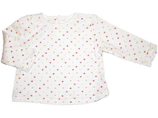St.bernard * - bluzeczka w groszki - 3-6 mies.