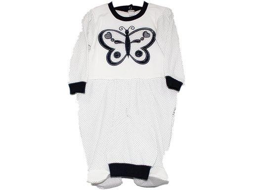 Mc.elci *- pajacyk z motylem czapka - 74 cm 9 m