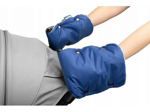 Sensillo rękawiczka mufka do wózka minky blue