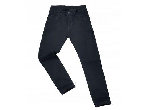 Spodnie slim fashion pro r 10 - 134/140 cm black