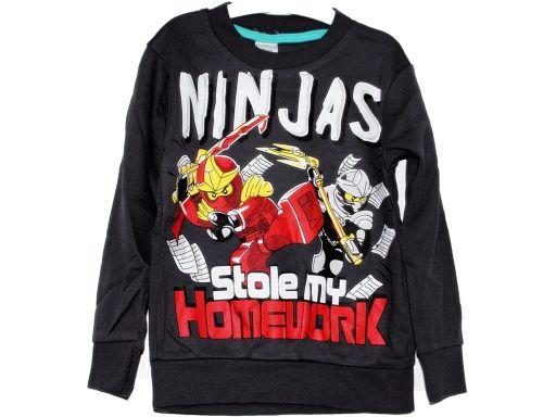 Monaco * bluza bluzka ninjas ninjago 4-5 l 110