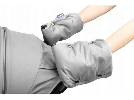 Sensillo rękawiczka mufka do wózka minky grey