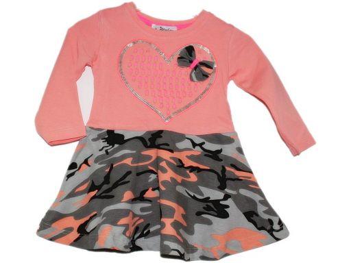 Atabay * -śliczna sukienka moro cekiny 1 rok