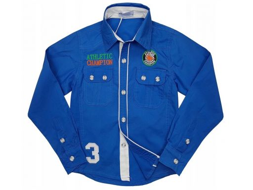 Wizytowa koszula domination 4 - 98/104 blue