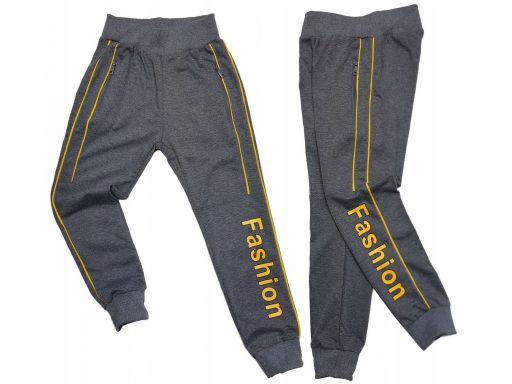 Spodnie dresowe fashion r 16 - 158/164 cm grey