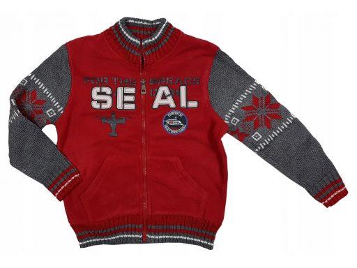 Bluza polar air seal r 4 - 98/104 cm red
