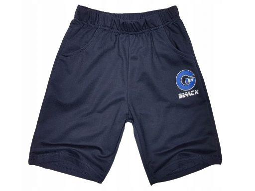Spodenki szorty g blaack r 8 - 122/128 cm blue